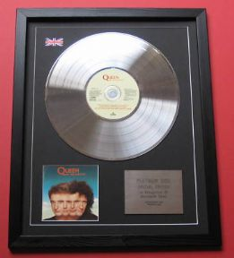 QUEEN - The Miracle CD / PLATINUM LP DISC
